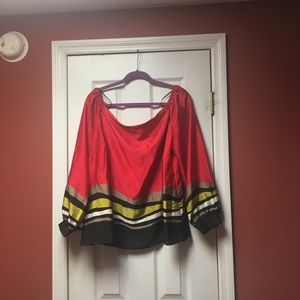 Rachel Roy off the shoulder blouse 16W